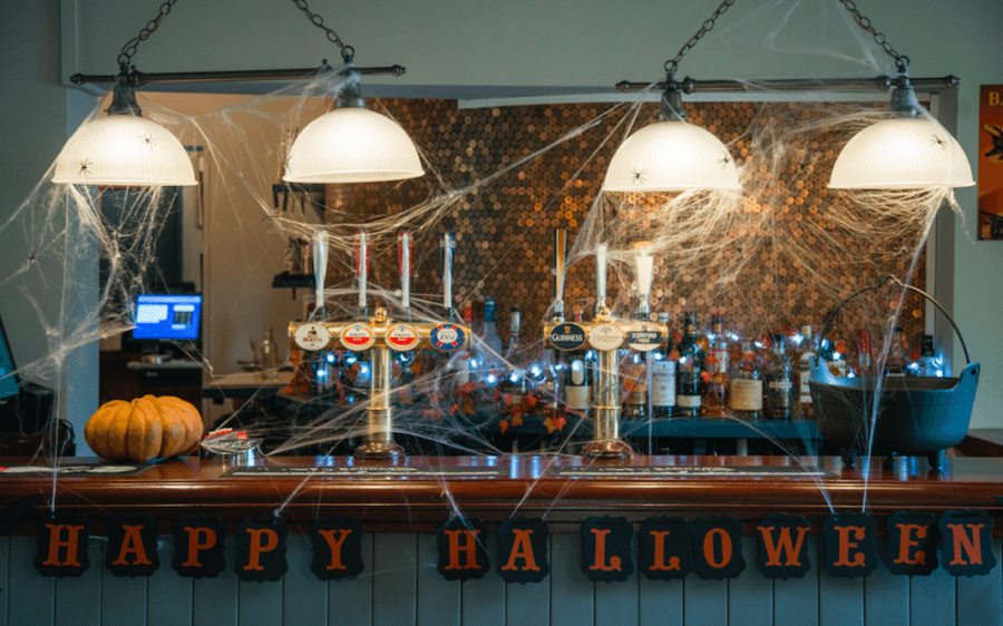 Something spooky is happening at The Cyder House Inn…